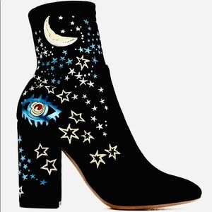 VALENTINO Astro Hand Painted Runway Boots